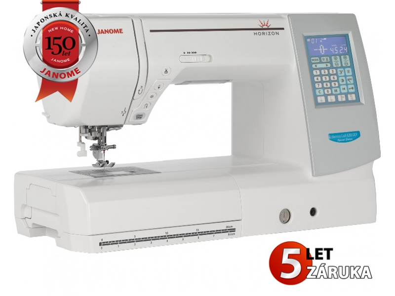 JANOME MEMORY CRAFT 8200QCP SE